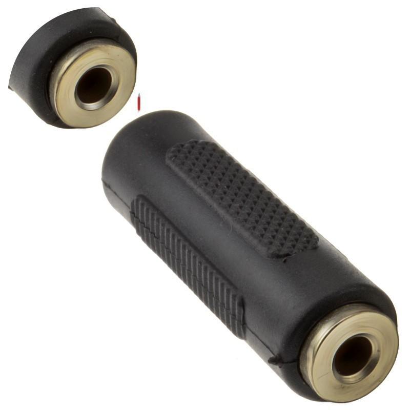 3.5mm (3.5 mm) Jack Coupler Joiner Stereo (Headphone Jack) Adapter