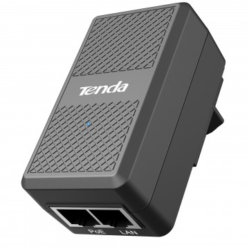 Tenda 48V Passive PoE Injector Power Over Ethernet 100m...
