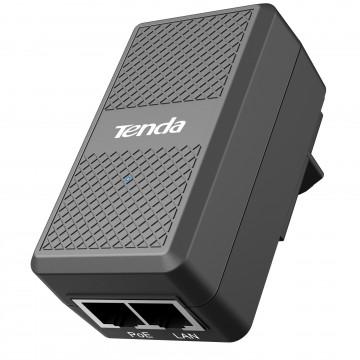 Tenda 48V Passive PoE Injector Power Over Ethernet 100m Adapter 10/100Mbps