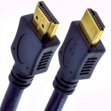 Newlink OFC HDMI 2.0 4k High Speed Cable Gold for 3D TV   0.5m Short