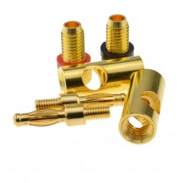 Satellite F Connector Plug to Plug RG59 Cable Black Lead GOLD 10m