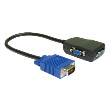 NewLink Portable Video Distribution Amplifier VGA Splitter Cable