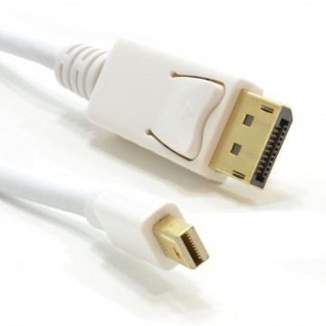 Mini-DisplayPort Male Plug to Display Port Plug Monitor Cable...