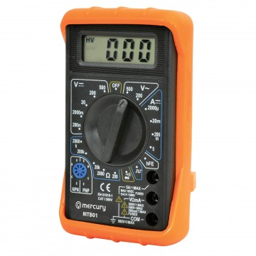 MTB01 Digital Multimeter Tester with Leads 19 Testing Ranges &...