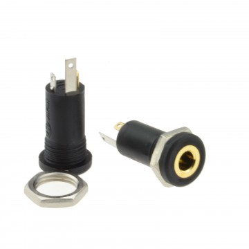 3.5mm Aux Stereo Socket Input Panel Mount Audio Solder Adapter...