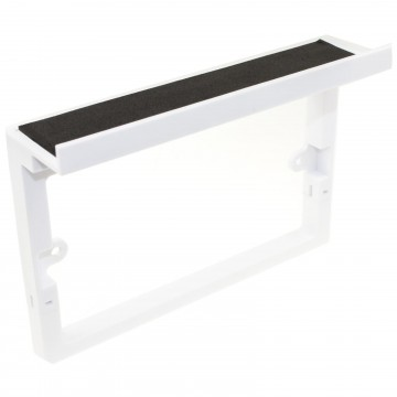Faceplate Surround with Shelf for USB Power Outlets Mobile...