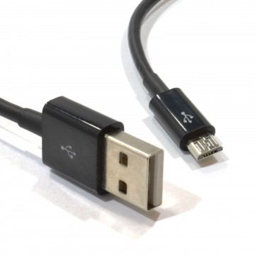 HQ USB Fast Charging Cable for Micro B Android Devices 0.5m