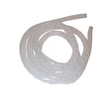 Spiral Cable Tidy Kit 12mm in Clear PVC for Home or Office Safety 10m