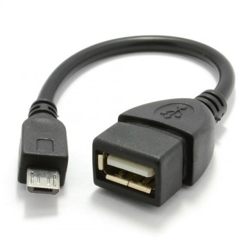 OTG USB On The Go Host Adapter Cable for Mobile Phones & Tablets
