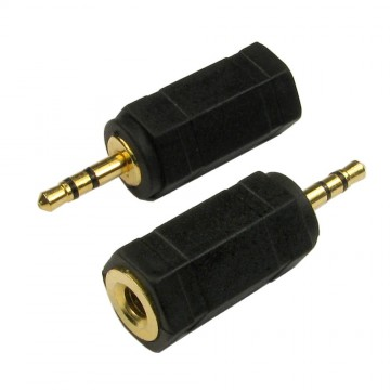 3.5mm Stereo Jack Socket to 2.5mm Stereo Jack Male Plug Adapter