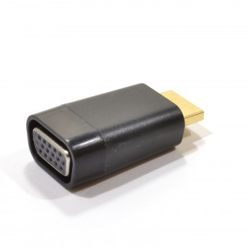 HDMI Device to VGA 15 Pin Screen/Projector Converter Video Adapter