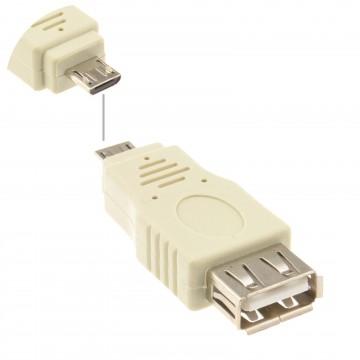 USB 2.0 A Type Socket to USB Micro B 5 Pin Plug Male Adaptor...