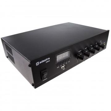 DM40 100v 4-16Ohm Line Poweramp Mixer with Bluetooth FM Tuner Aux USB