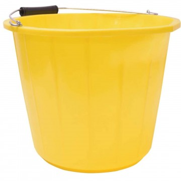 Mercury Heavy Duty Builders/Mixing Bucket 14 Litre with...