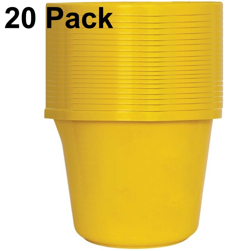 Heavy Duty Builders/Mixing Bucket 14 Litre with Measurement Lines [Pack of 20]