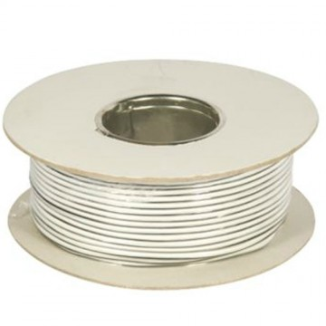 79 Strand Speaker Wire Copper Cable 100m Reel White