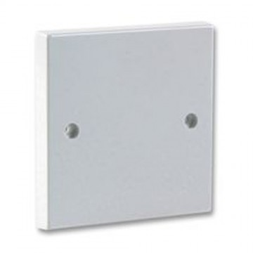 1 Gang Blanking Plate for Single Gang Back Box White Finish +...