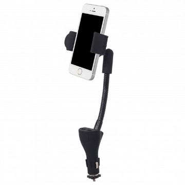 Universal Car USB Smartphone Android/IOS Mobile Phone Charger & Holder