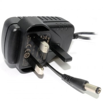 CCTV Camera 12V 0.5A 500mA PSU 2.1mm DC Plug UK Power Supply