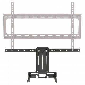 Media Box Mounting Adapter Bracket for Existing TV Brackets Black