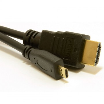 Micro D HDMI High Speed Cable to HDMI for Tablets & Cameras...