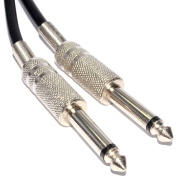 Flexible Speaker Cable 6.35mm Jack Plug To 6.35mm Jack Plug...