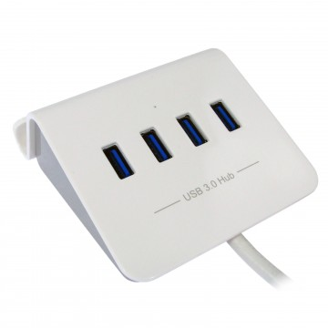 4 Port USB 3 SuperSpeed Rapid Charging Dock Supports On The Go...