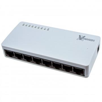 Newlink Network 10/100 Desktop Switch (Hub) 8 Port with UK PSU
