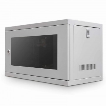 Data Cabinet for Rack Mounted Networking Small 6U Wall Mounting 300mm