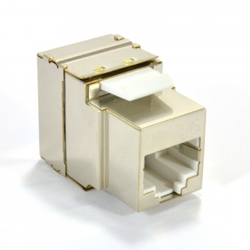 ToolLess Cat6 FTP Shielded Keystone Jack Connector for Load Bar Patch Panel