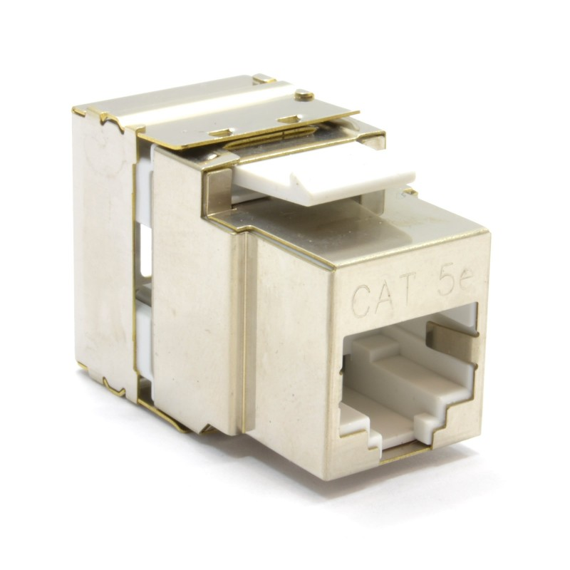ToolLess Cat5e FTP Shielded Keystone Jack Connector for Load Bar Patch Panel