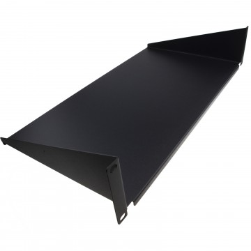 [Twin Pack] Fixed Cantilever Shelf 2U 250mm Deep Black 19 inch...