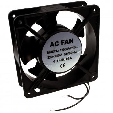 Cooling Fan AC 220V-240V 120mm x 120mm x 38mm Ball Bearing for Floor Cabinet