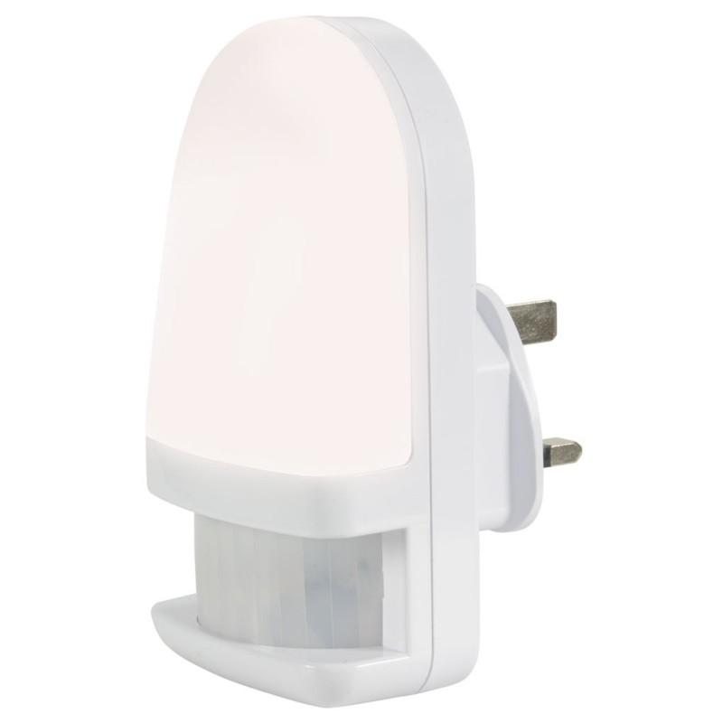 Motion Sensor UK Mains Power LED Night Light 4000k Natural White