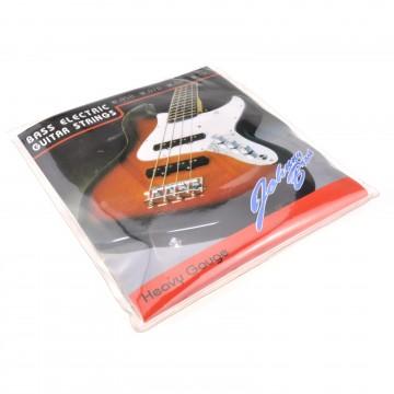 Set of 4 Johnny Brook G D A E Bass Guitar Steel Strings Heavy...