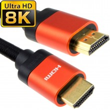 HDMI v2.1 Ultra High Speed HDR 8K 30Hz 4K 60Hz 48Gbps eARC Cable 5m Copper