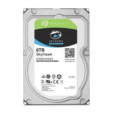 Seagate SKYHAWK Surveillance 3.5 SATA Hard Drive HDD for CCTV 6TB