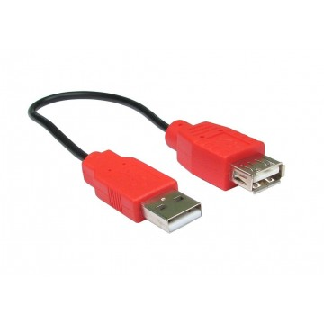 Power Only USB Charging Cable Extension Lead 20cm