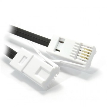 BT 4 Wire 431A Plug to 4 Wire Male Plug Telephone Cable Lead...