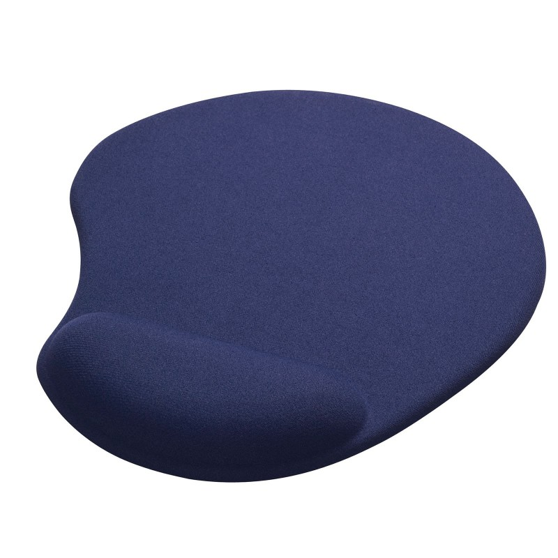 Gembird Gel Mouse Pad Mat With Wrist Rest Support Blue