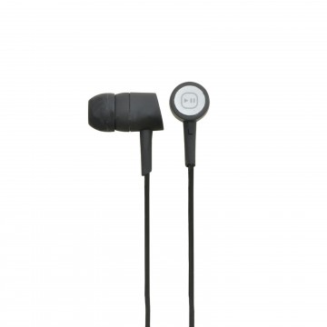 In Ear Earphones In-line Control with Braided Lead 3.5mm Plug...