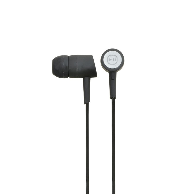 In Ear Earphones In-line Control with Braided Lead 3.5mm Plug 1.2m
