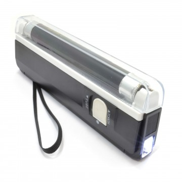 Ultra Portable UV Fake Money Forged Bank Note Checker with Torch