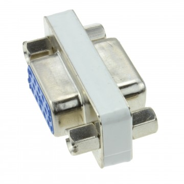 Gender Changer - HD15 (15pin) SVGA VGA Coupler Female to Female