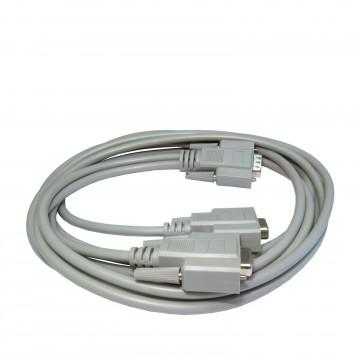 SVGA Monitor Splitter 2 way HD15 Plug to 2 x HD15 Sockets 1.8m