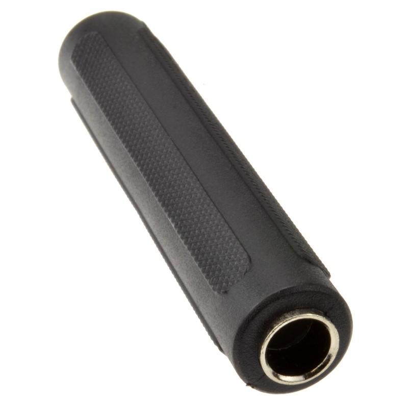 6.35mm Mono Jack Socket To 6.35mm Jack Socket Coupler Joiner Adapter