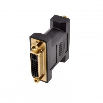 DVI-I Dual Link 29 Pin Female - Female Coupler Adapter