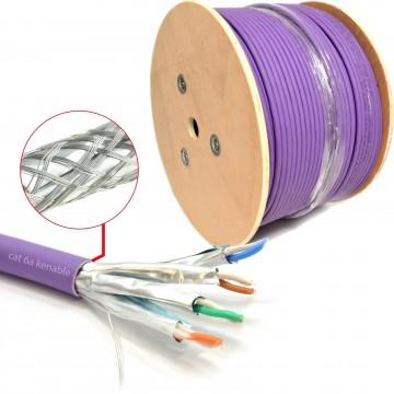 Cat6A S/FTP COPPER Low Smoke LSZH 10 Gigabit Network Cable...