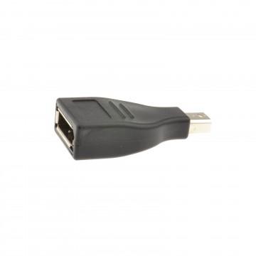 Mini DisplayPort Plug to DisplayPort Female Socket Converter Adapter