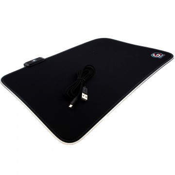 LED RGB Pro Gaming 3mm Heavy Duty Mouse Pad Mat 250 x 350mm...